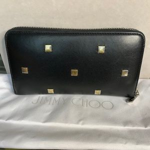 Jimmy choo stud wallet